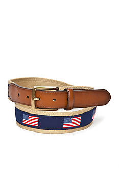 Saddlebred 1.38-in. Flag Ribbon Belt