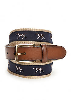 Saddlebred Novelty Pointer Dog Belt