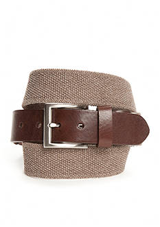 Saddlebred Khaki Heather Stretch Belt