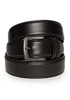 Saddlebred Big & Tall Dropped Edge With Crease Casual Belt