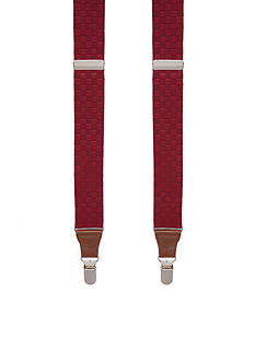 Saddlebred 32-mm. Textured Stretch Suspender