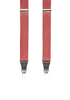 Saddlebred 32-mm. Textured Non-Stretch Clip Suspenders