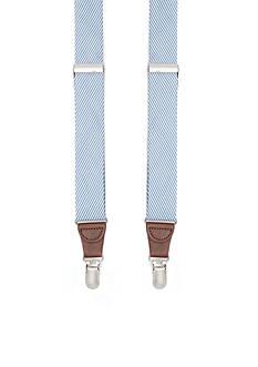 Saddlebred 1.26-in. Seersucker Non-Stretch Clip Suspenders