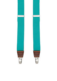 Saddlebred 1.26-in. Solid Stretch Clip Suspenders