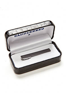 Saddlebred Polished Black Nickel Short Boxed Tie Bar