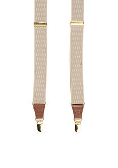 Saddlebred Big & Tall Double Diamond Stretch Clip Suspenders