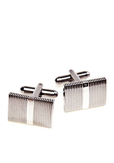 Saddlebred Polished Black Nickel Cufflinks