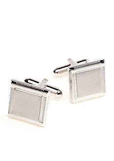 Saddlebred Square Etched Edge Cufflinks
