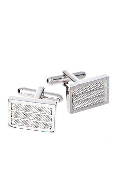 Saddlebred Textured Center Cuff Links
