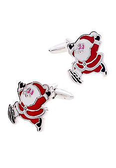 Saddlebred Santa Claus Cuff Links