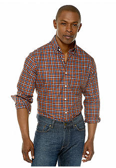 Black Brown 1826 Harry Herringbone Check Shirt