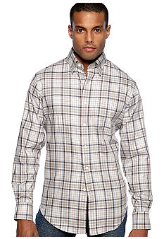 Black Brown 1826 Gaston Plaid Shirt