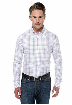 Black Brown 1826 Plaid Multi Purple Shirt
