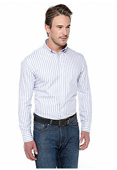 Black Brown 1826 Whiskers Stripe Shirt