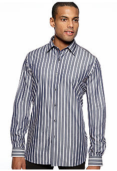 Black Brown 1826 Bartolomeo Stripe Shirt