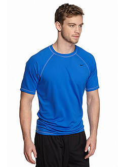 Nike Big & Tall Solid Short Sleeve Hydro Shirt
