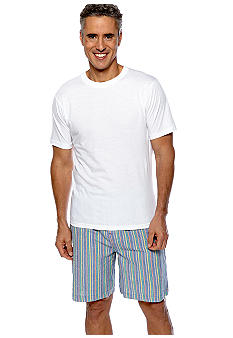 Izod Seersucker PJ Short Set