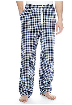Izod Plaid Lounge Pants