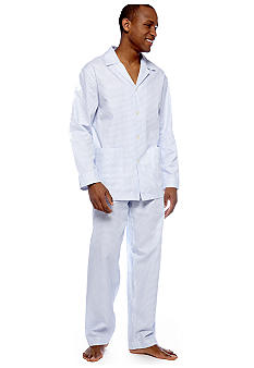 Izod Blue and White PJ Set