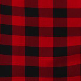 Izod Men Sale: Red IZOD Check Matte Fleece Lounge Pants