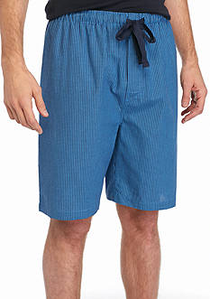 IZOD Cotton Broadcloth Lounge Shorts