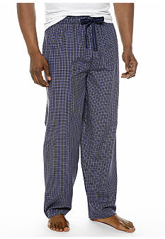 Izod Check Lounge Pants