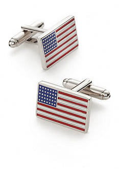 Saddlebred American Flag Cufflinks