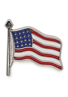 Saddlebred American Flag Large Lapel Pin