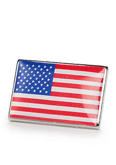 Saddlebred American Flag Lapel Pin