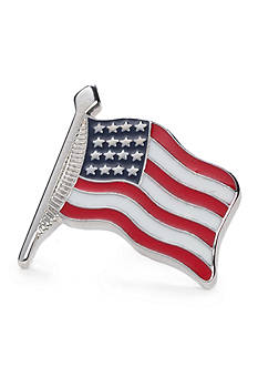 Saddlebred Small Waving American Flag Lapel Pin