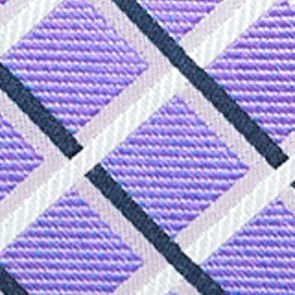 Men: Regular Sale: Purple Saddlebred Tulsa Bold Grid Tie