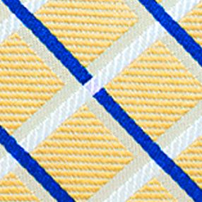 Men: Regular Sale: Yellow Saddlebred Tulsa Bold Grid Tie