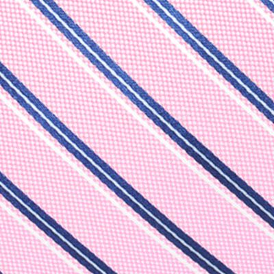 Men: Regular Sale: Pink Saddlebred Valencia Oxford Stripe Tie