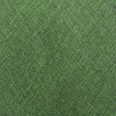 Men's Accessories: Green Saddlebred Men's Solid Tie