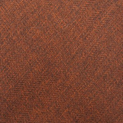 Saddlebred: Orange Saddlebred Men's Solid Tie