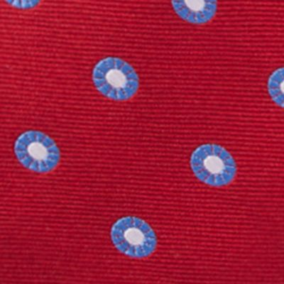 Young Men: Saddlebred Accessories: Red Saddlebred Men's Saco Neat Tie