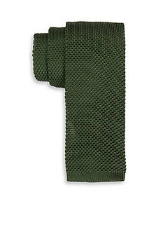 Saddlebred Gamma Solid Knit Tie