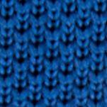 Men: Regular Sale: Blue Saddlebred Gamma Solid Knit Tie