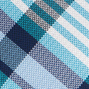 Saddlebred®: Aqua Saddlebred Nardin Big Plaid Tie