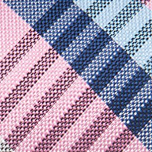 Necktie: Pink Saddlebred Nardin Big Plaid Tie