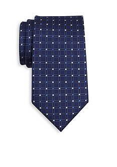 Saddlebred Neat Grid Tie