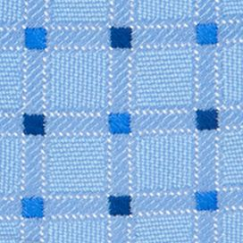 Young Men: Saddlebred Accessories: Blue Saddlebred Neat Grid Tie
