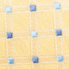 Gifts For Him: Accessories: Yellow Saddlebred Neat Grid Tie