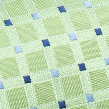 Big and Tall Ties: Neckties: Green Saddlebred Extra Long Savannah Neat Tie