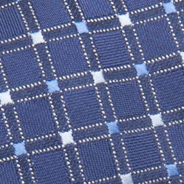 Big and Tall Ties: Neckties: Navy Saddlebred Extra Long Savannah Neat Tie