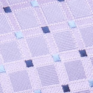 Big and Tall Ties: Neckties: Purple Saddlebred Extra Long Savannah Neat Tie