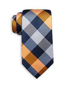 Saddlebred Extra Long Vail Gingham Tie