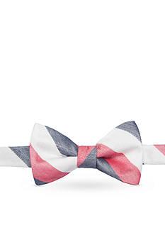 Saddlebred Pre-Tied Naval Stripe Bow Tie