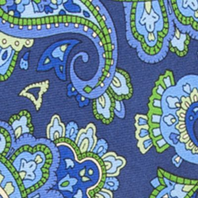 Saddlebred Big & Tall Sale: Navy Saddlebred Extra Long Anderson Paisley Tie