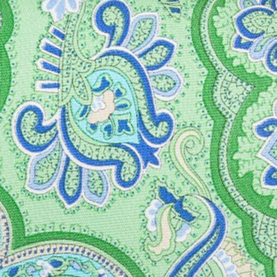 Men: Saddlebred Trends: Green Saddlebred Everett Paisley Tie